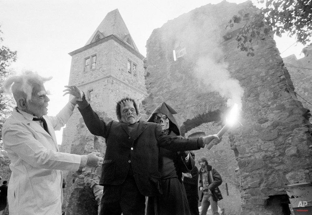 Frankenstein's Halloween