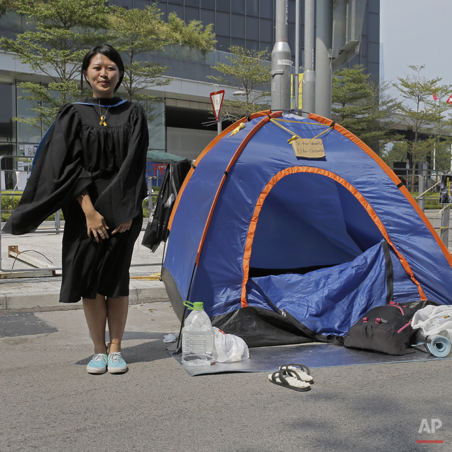 Hong Kong Portraits of Protest Photo Gallery