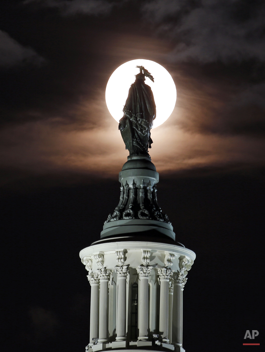 Washington Supermoon
