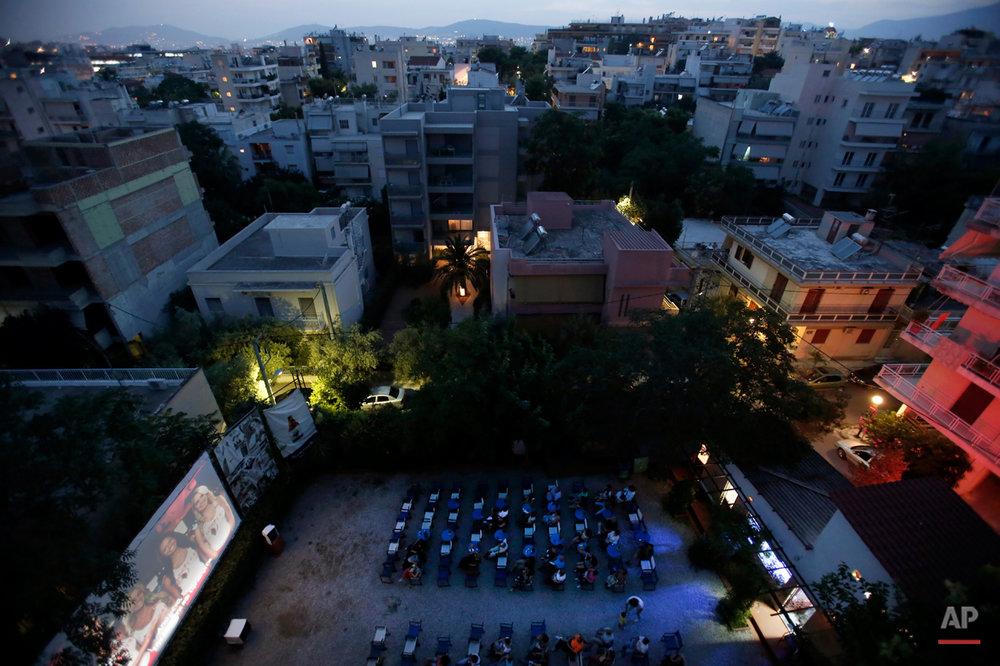 Greece Outdoor Cinemas Photo Essay