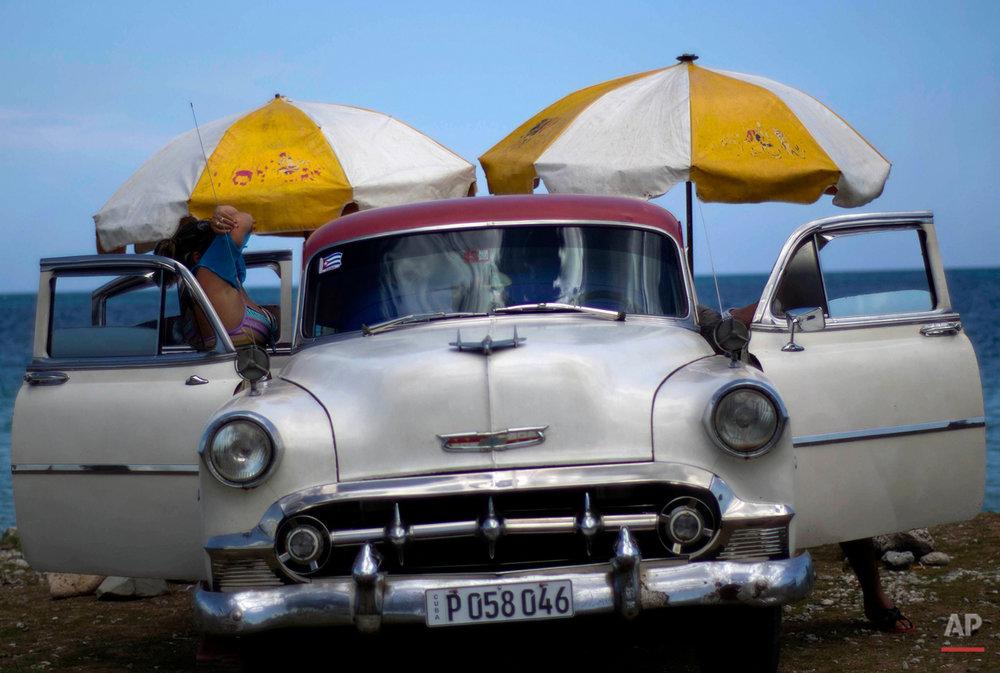 APTOPIX Cuba On The Beach