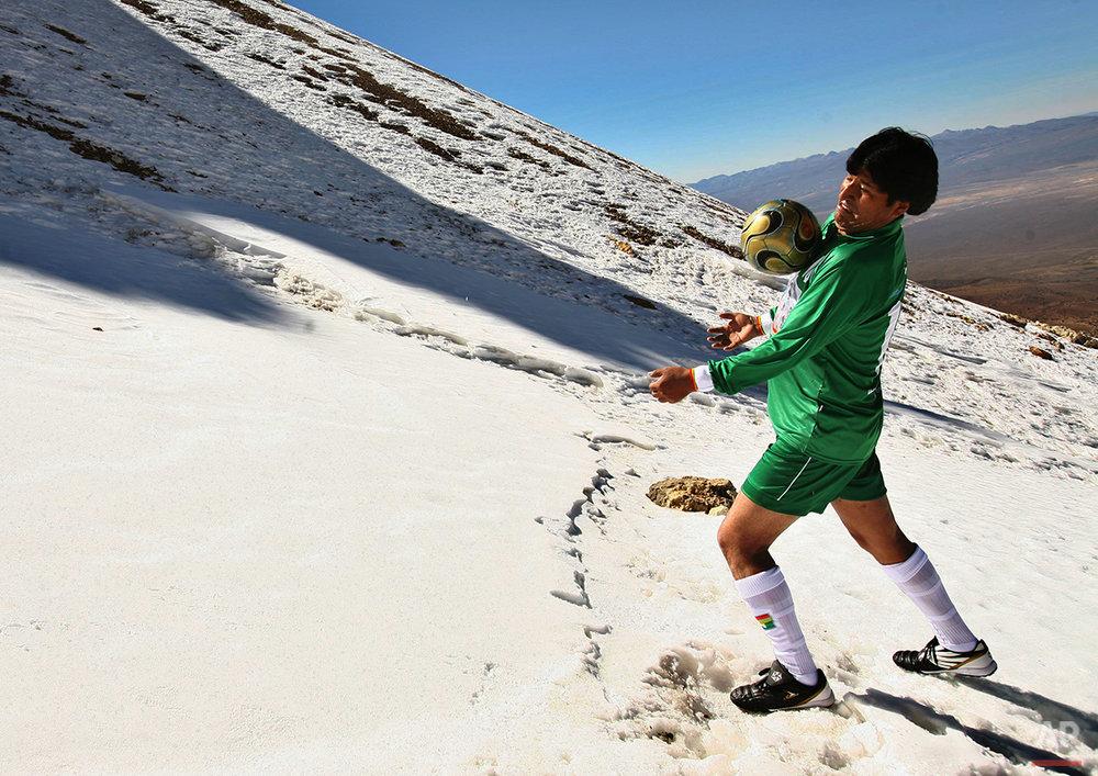Bolivia Altitude Soccer