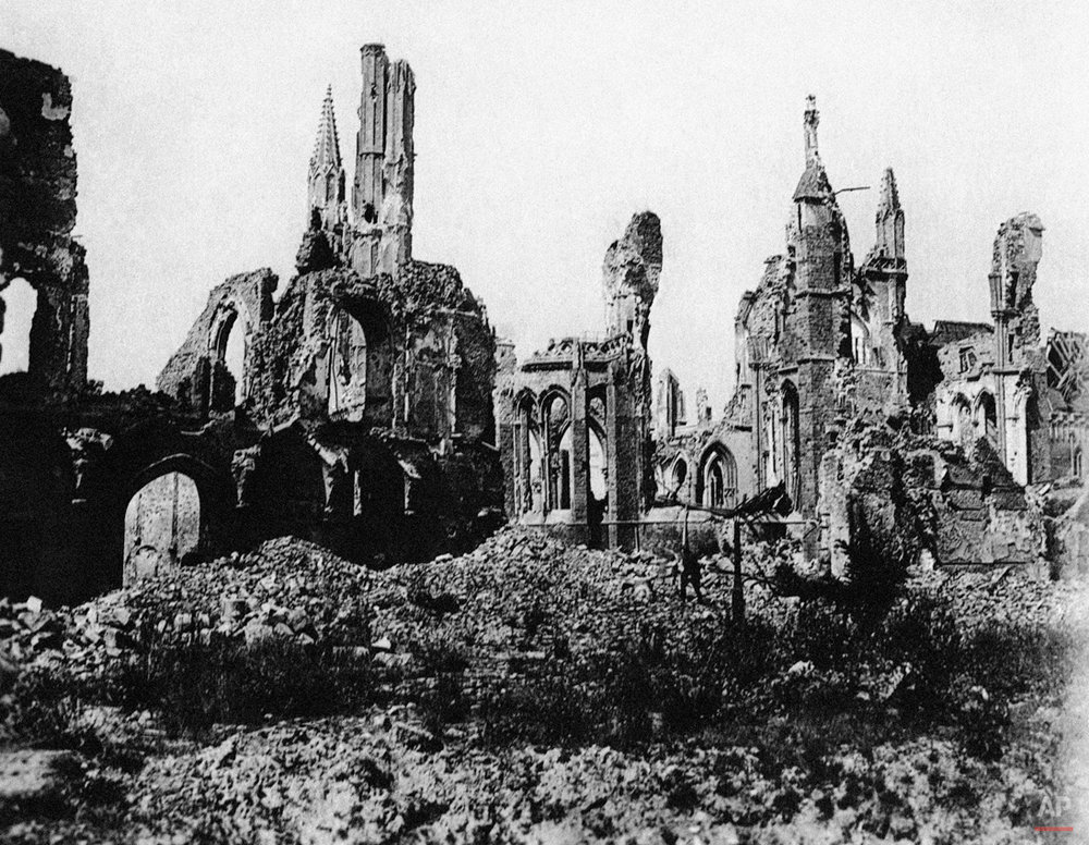 WWI Belgium, destruction
