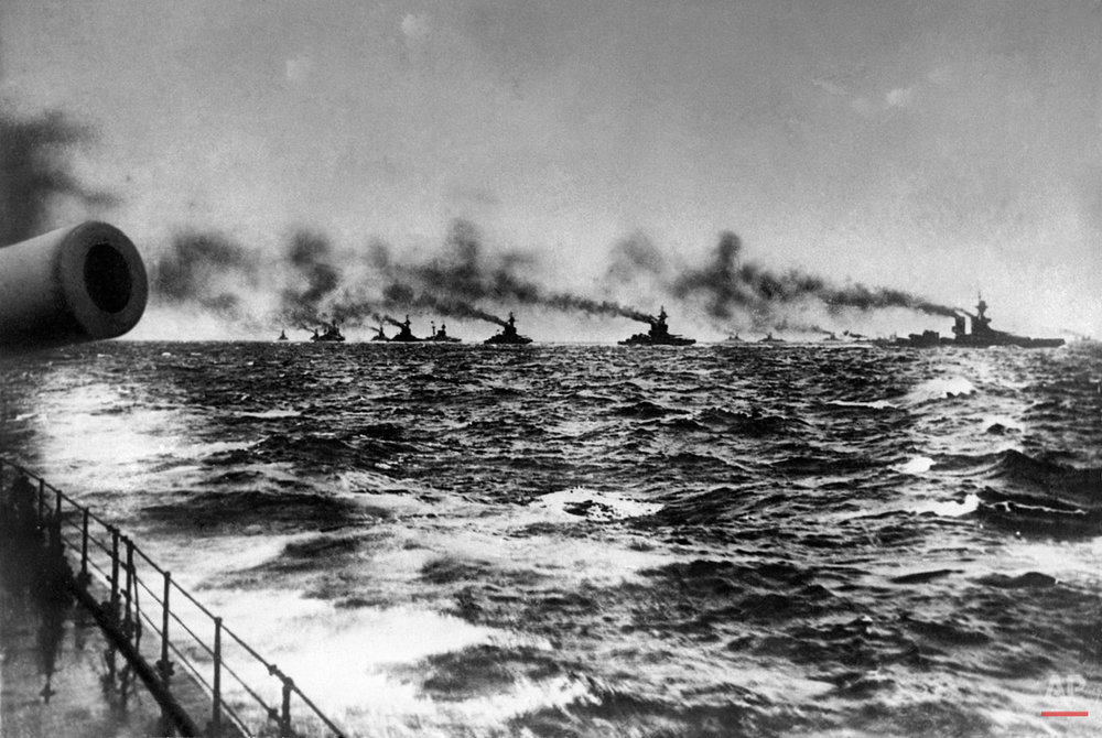 WWI Battle of Jutland