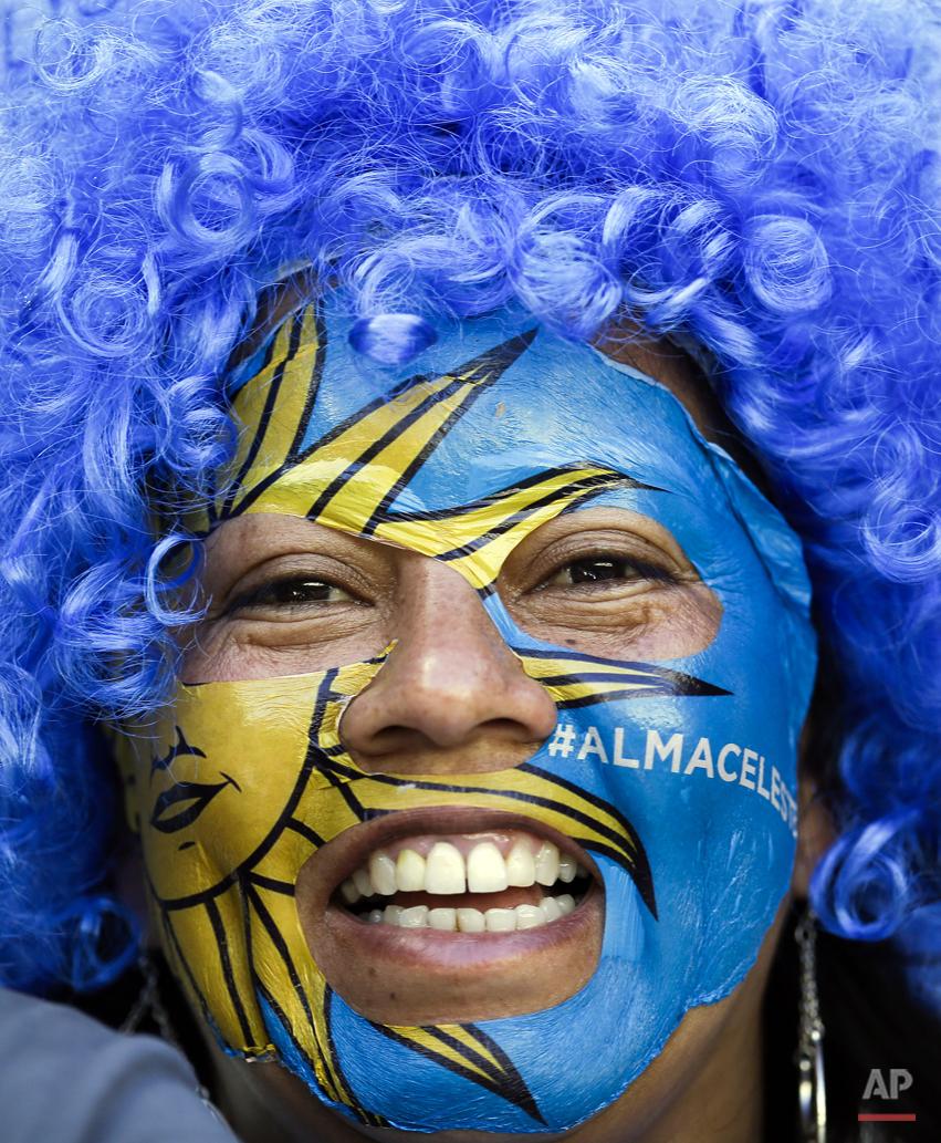 Brazil Soccer WCup Uruguay Costa Rica