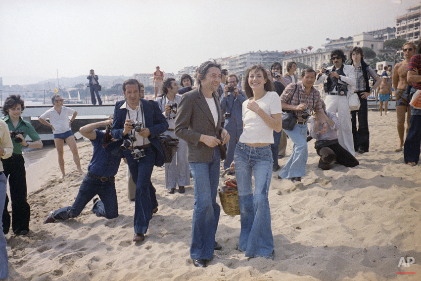 Jane Birkin and Serge Gainsbourg 1974