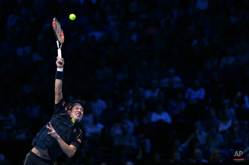Pictures Of The Week Photo Gallery  Britain Tennis ATP Finals
