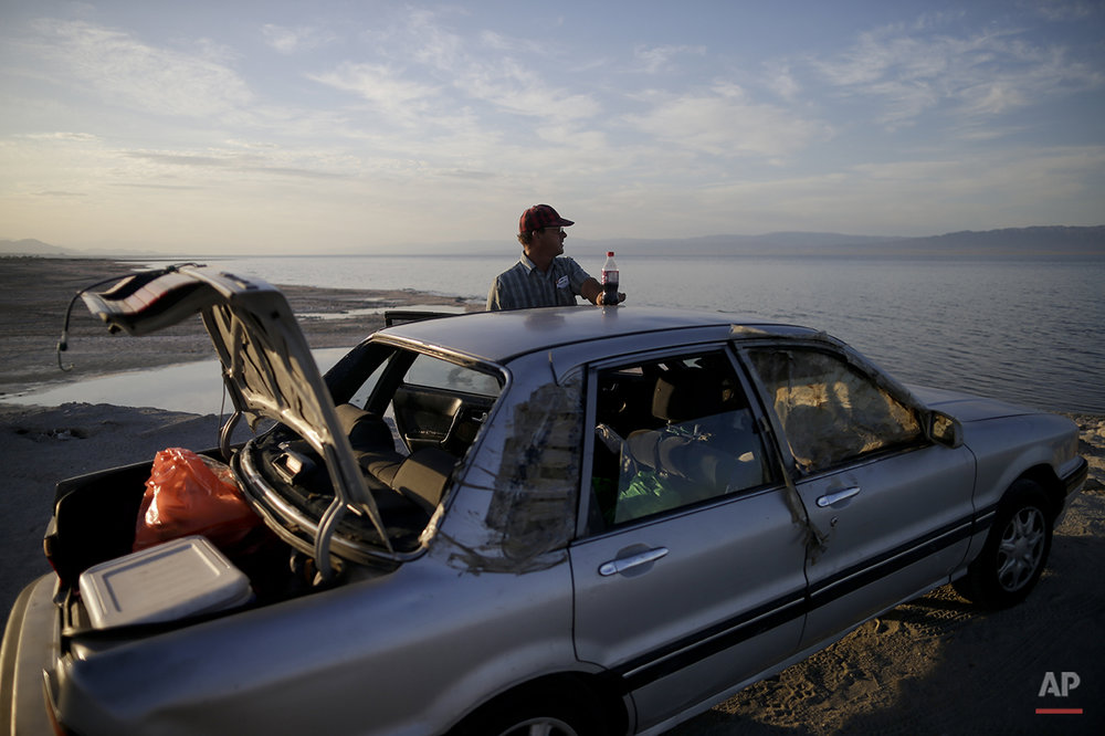Shrinking Salton Sea