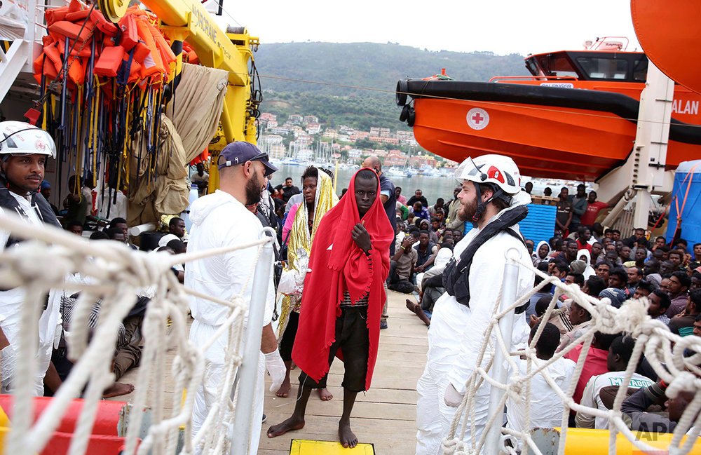 Italy Migrants