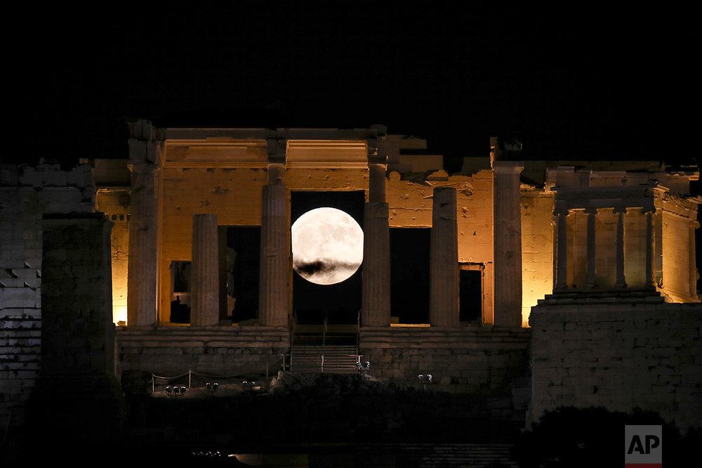 Greece Supermoon