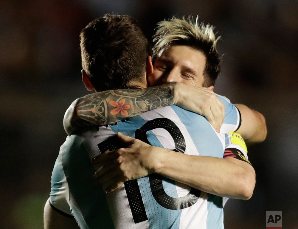 Argentina Colombia Wcup Soccer
