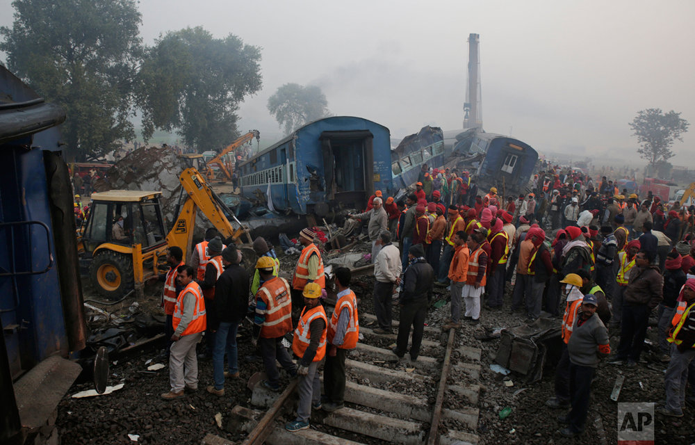 India Train Derails