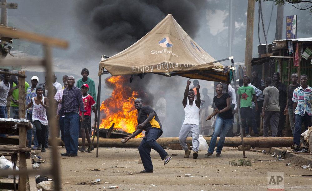 Politcal Unrest in Kenya
