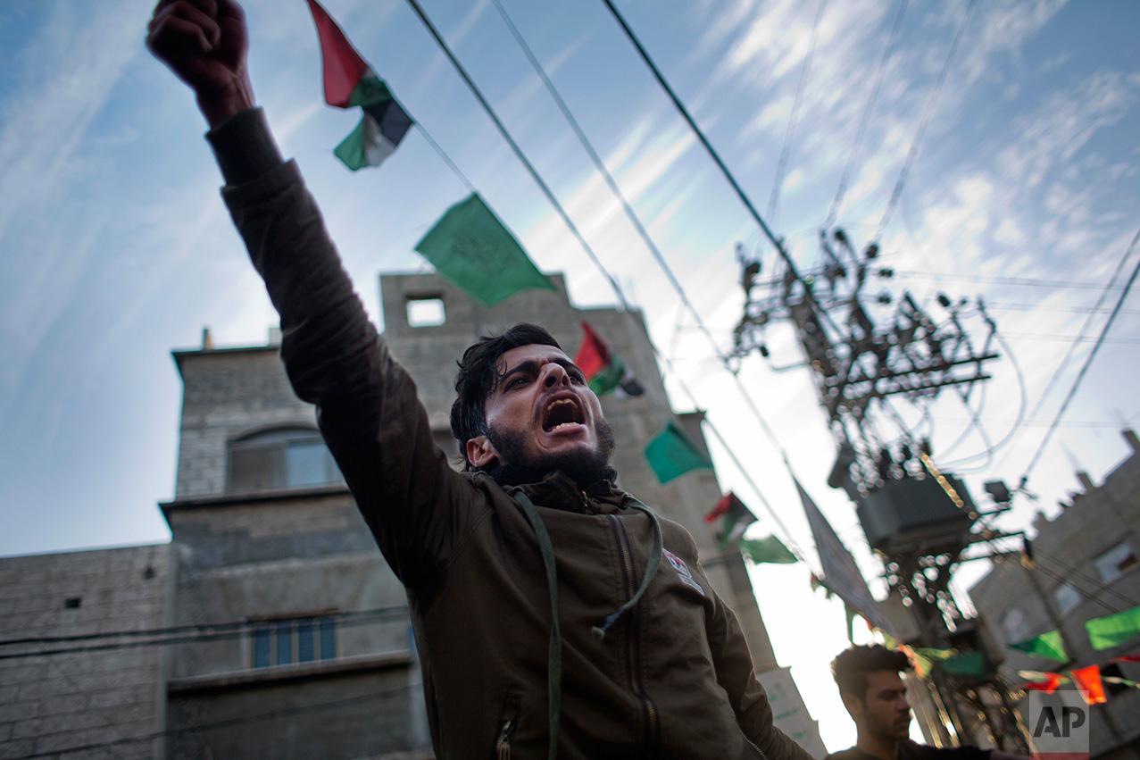 Palestinians Gaza Electricity Lament