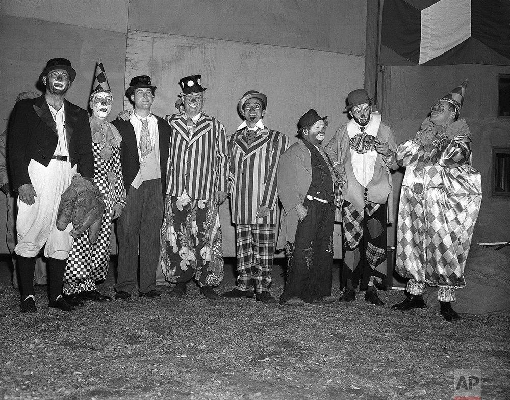 Circus Clowns 1953