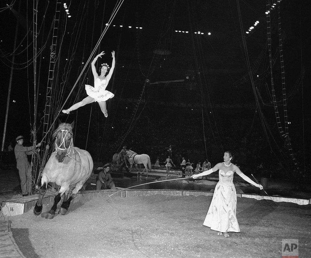 Circus Performer 1956