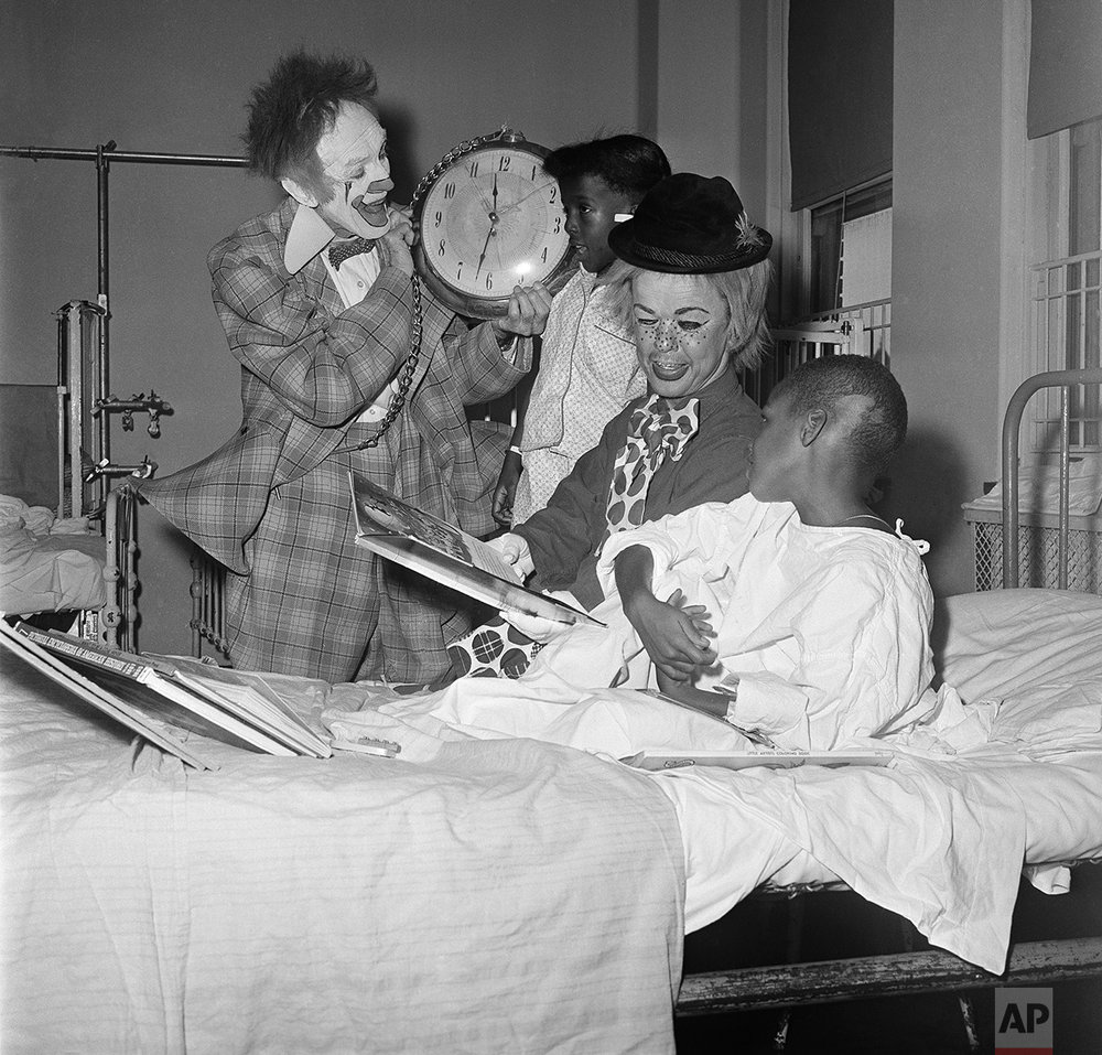 Clowns Children's Hospital 1966
