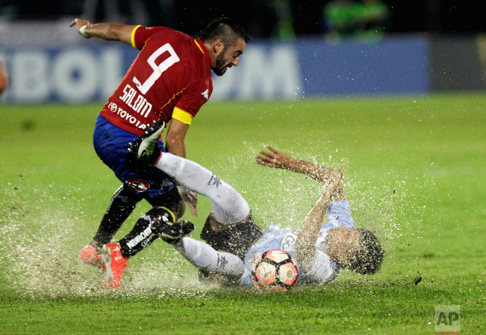 Uruguay Chile Copa Libertadores Soccer