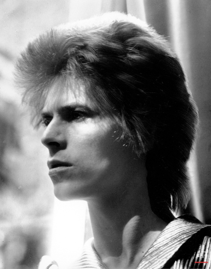 This is an Oct., 1972 photo of British singer David Bowie. (AP Photo)