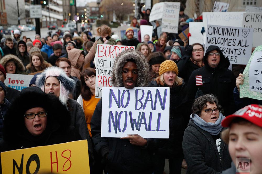 Trump Travel Ban Cincinnati