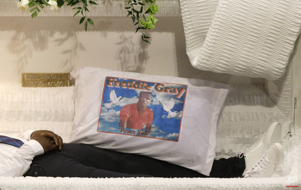 Series chronicling racial unrest in Baltimore over the death of Freddie Gray. 
