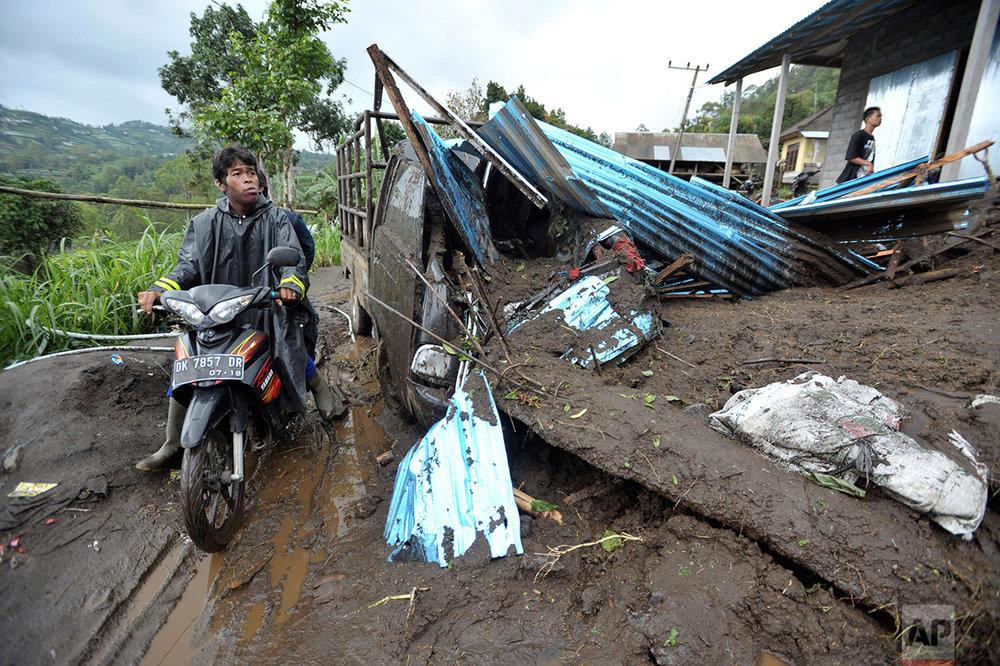 Indonesia Bali Landslide