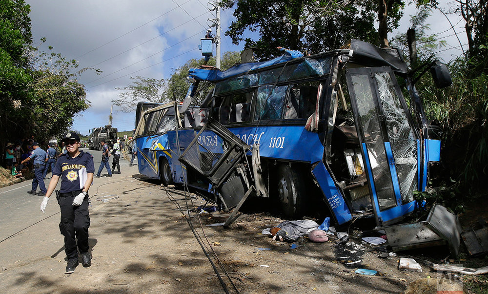 Philippines Deadly Bus Crash