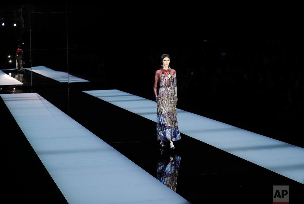 Italy Fashion Giorgio Armani