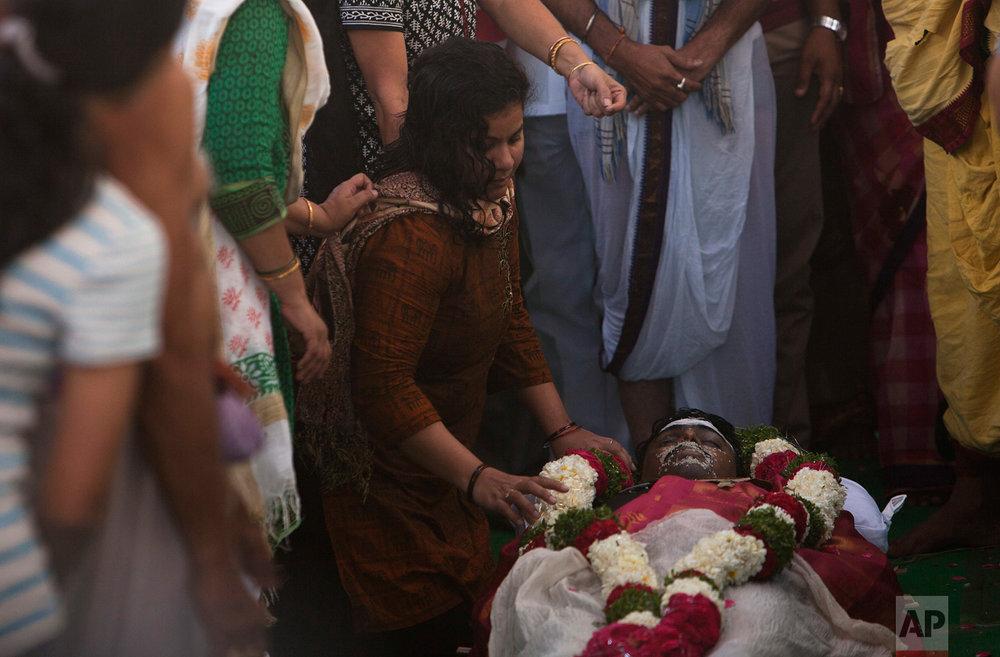 India US Bar Shooting Cremation