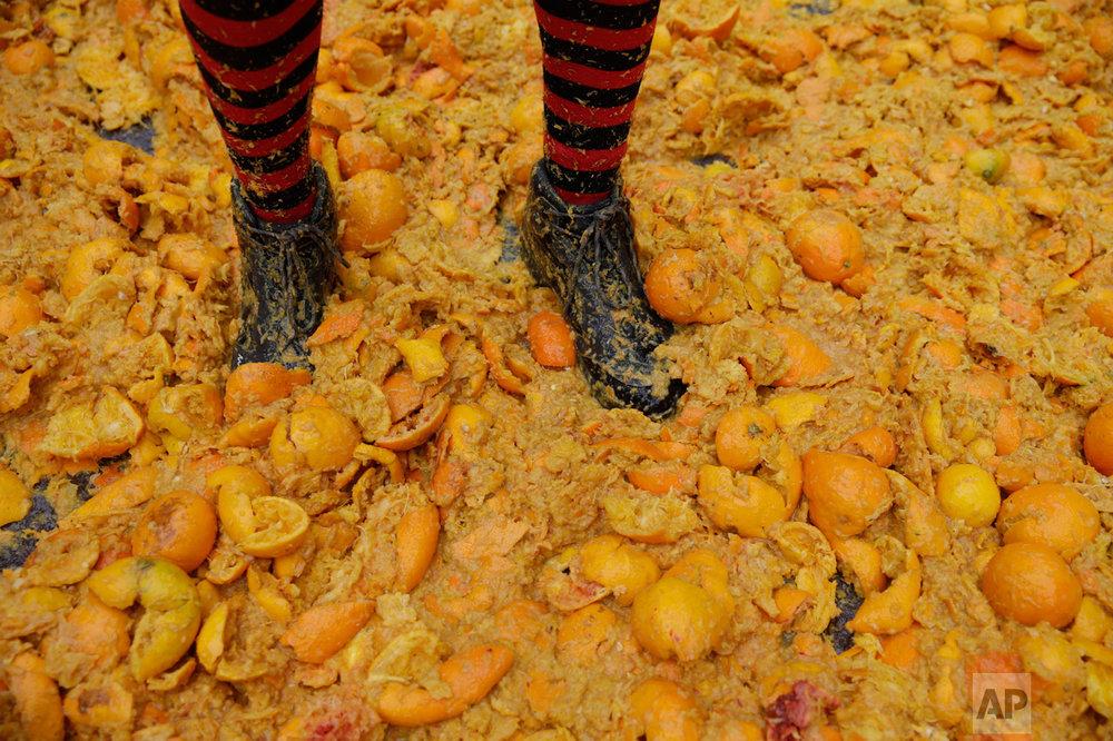 APTOPIX Italy Carnival