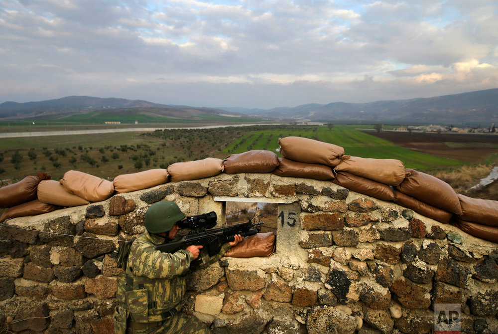 Turkey Syria Military Exercises