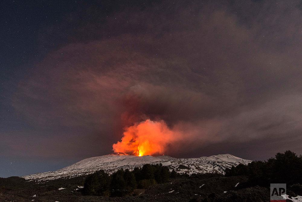 Italy Etna Volcano