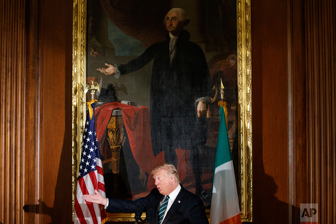 Trump US Ireland