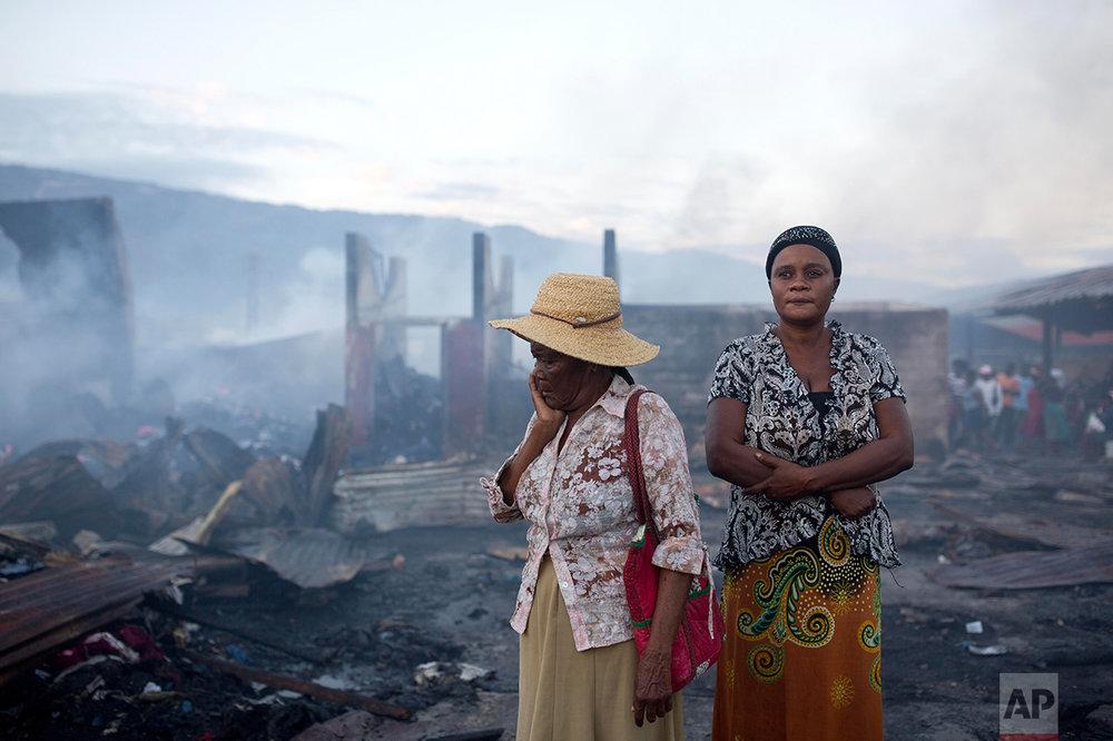 Haiti Fire