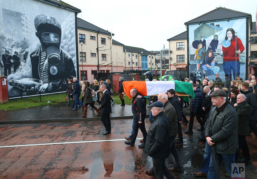 Britain Northern Ireland Obit Martin McGuinness
