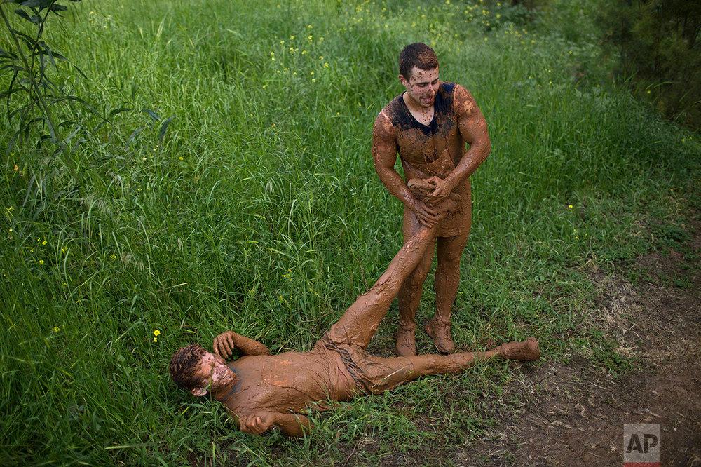 Israel Mud Day