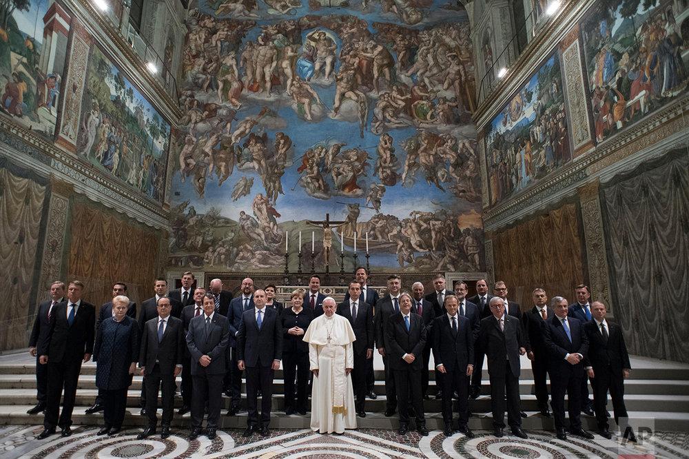 APTOPIX Vatican EU