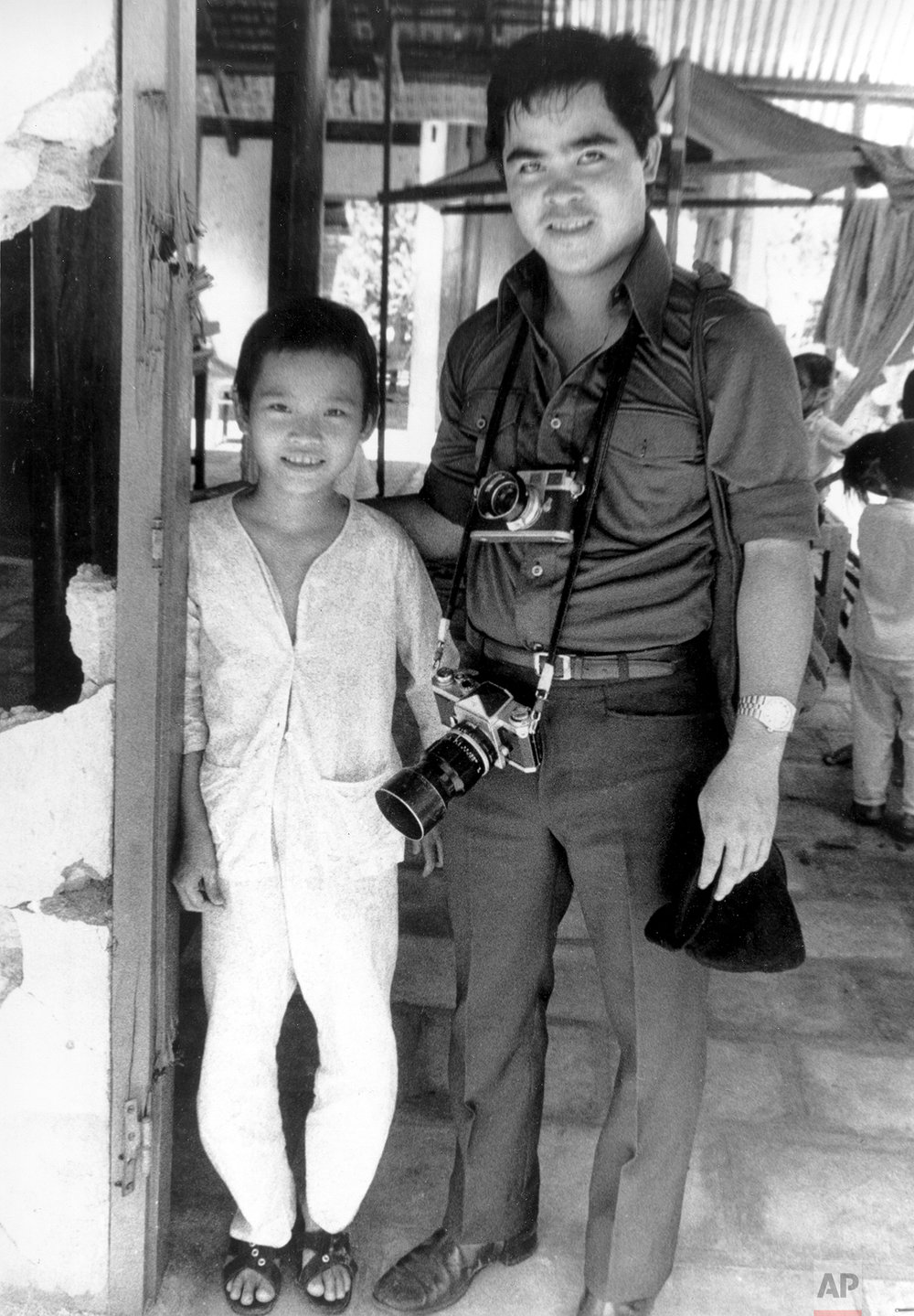 Phuc and Ut in 1973