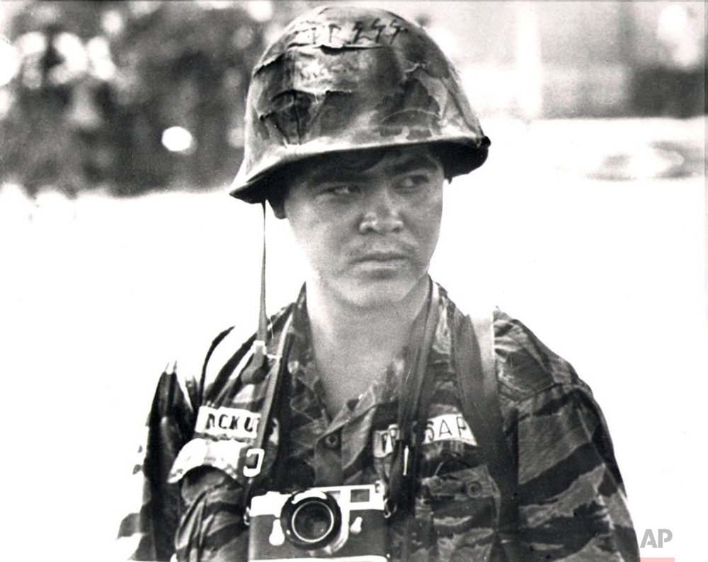 This undated photo shows Associated Press photojournalist Nick Ut in South Vietnam. (AP Photo)