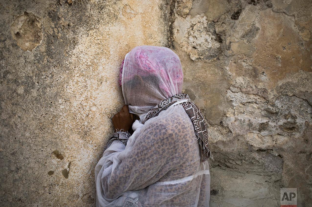 Israel Palestinians Easter