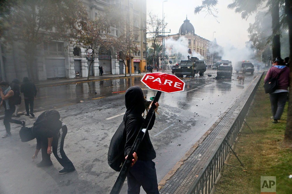 Chile Students Strike