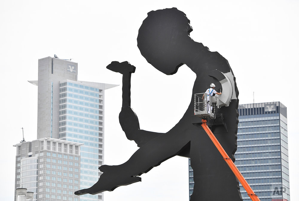 Germany Hammering Man