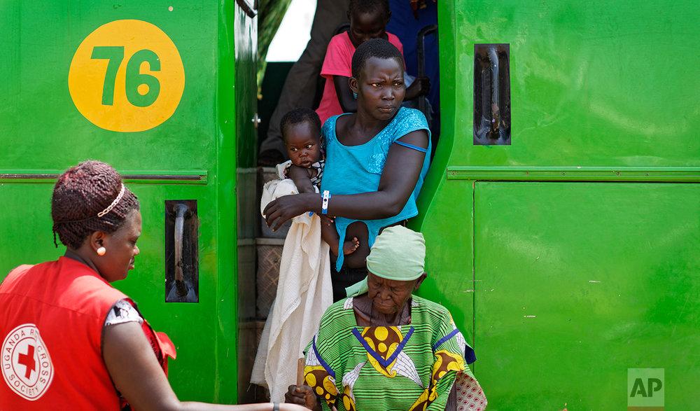 Uganda South Sudan Refugees