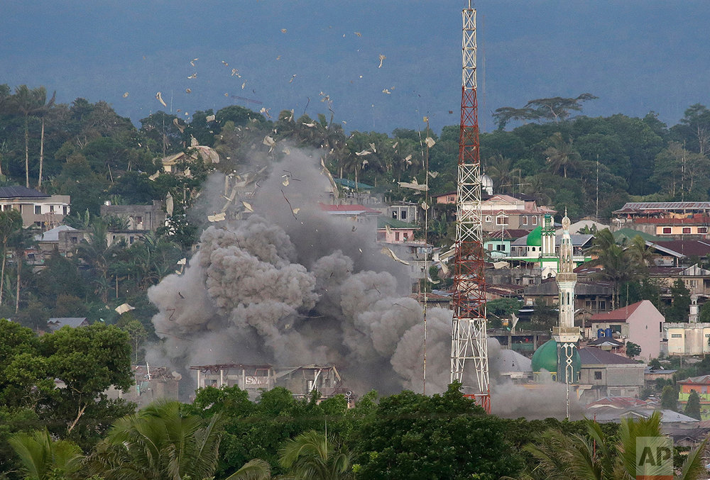 Philippines Escaping Marawi