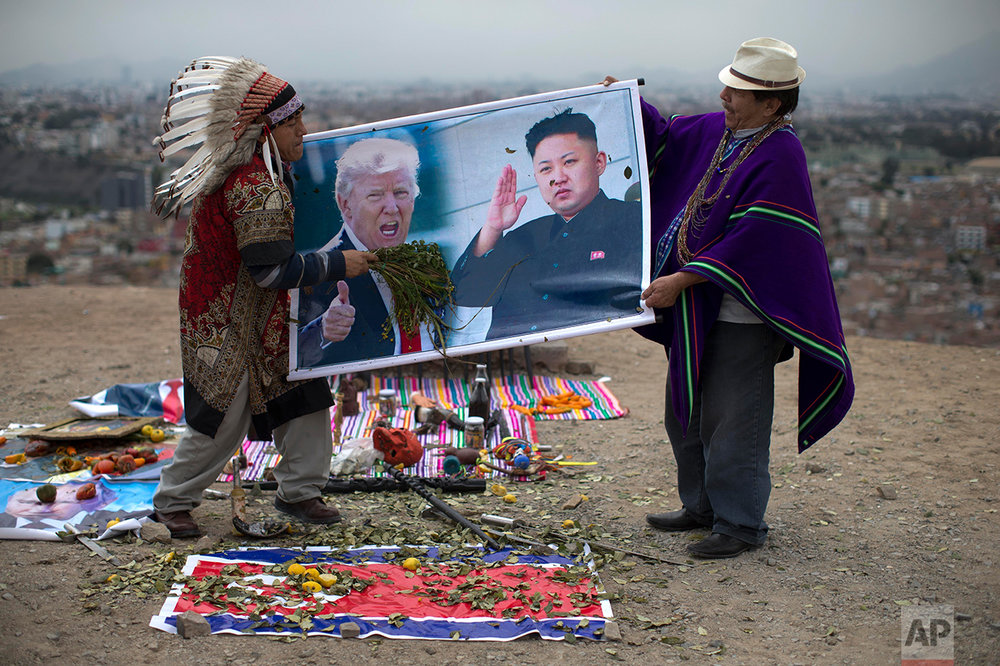 Peru US North Korea Shamans