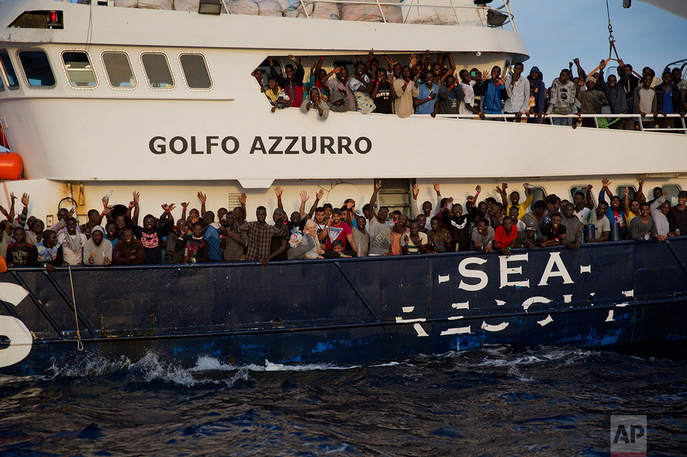 EU Libya Migrants