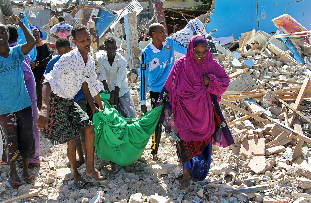 Somalia Deadly Blast
