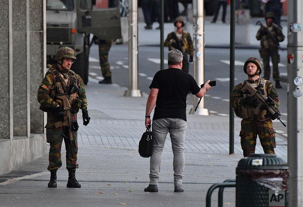 Belgium Station Explosion