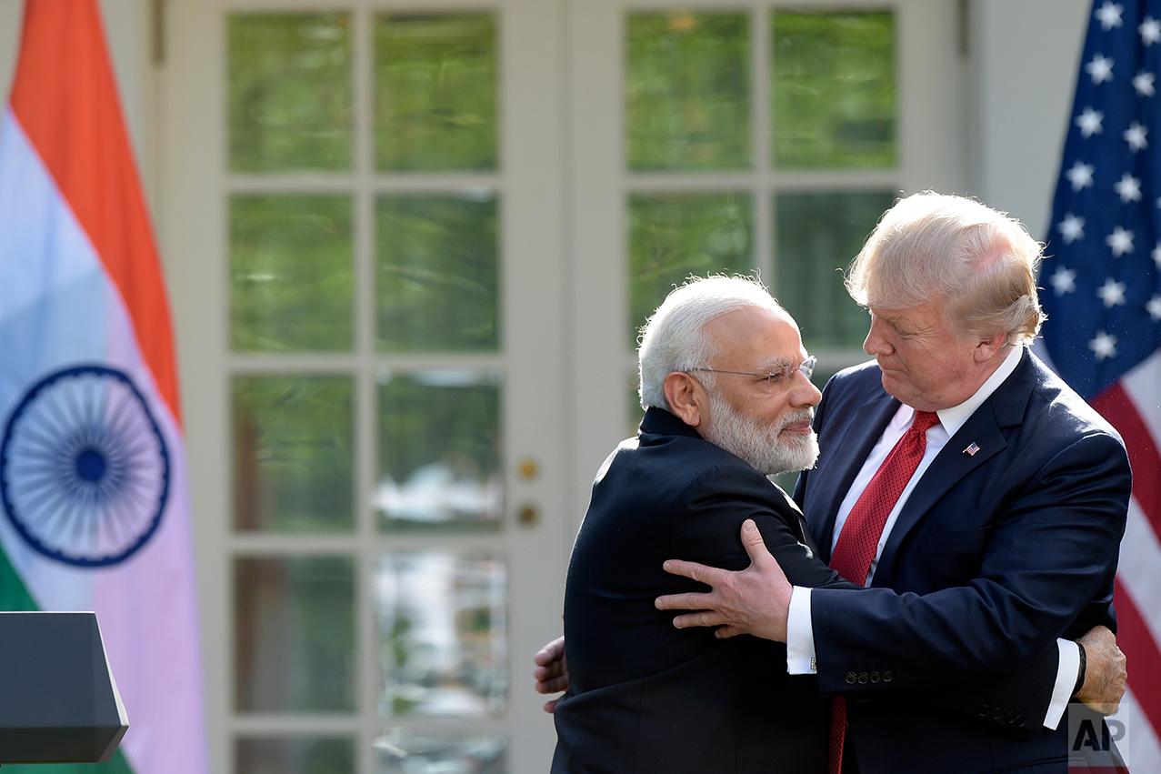 Trump United States India