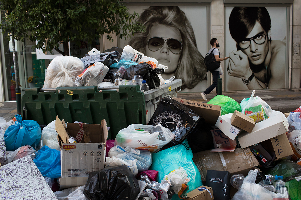 Greece Garbage Strike